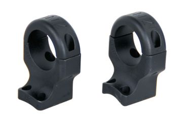 DNZ Products Hunt Masters Two Piece Mounts Browning X-Bolt 4 Screws 30mm Low Black