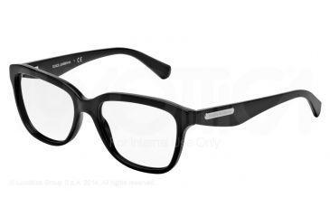 Dolce&Gabbana 3 LAYERS DG3193 Progressive Prescription Eyeglasses 501-52 - Black Frame