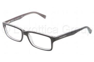 Dolce&Gabbana CONTRAST DG3148P Single Vision Prescription Eyeglasses 2631-5316 - Dark Steel Frame