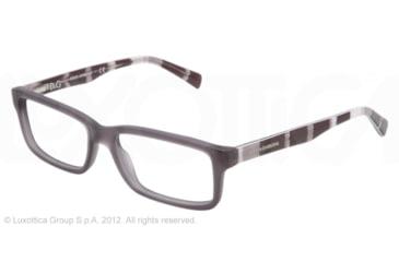 Dolce&Gabbana CONTRAST DG3148P Single Vision Prescription Eyeglasses 2758-53 - Matte Grey Frame