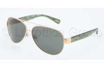 Dolce&Gabbana D&G ALL OVER DG2118P Single Vision Prescription Sunglasses DG2118P-119771-6012 - Lens Diameter 60 mm, Frame Color Gold