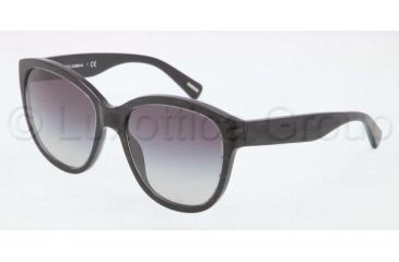 Dolce&Gabbana D&G ALL OVER DG4159P Progressive Prescription Sunglasses DG4159P-26598G-5618 - Lens Diameter 56 mm, Frame Color Black / Gray
