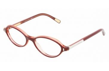 a498cadb412 Dolce Gabbana DG3105 Progressive Eyeglasses - Top Red Demo Lens Frame   50  mm Prescription Lenses