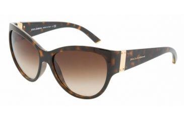 Dolce&Gabbana DG6059 Progressive Prescription Sunglasses DG6059-502-13-5816 - Lens Diameter 58 mm, Frame Color Havana