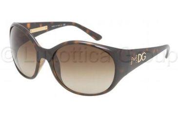 Dolce&Gabbana DG6060 Bifocal Prescription Sunglasses DG6060-502-13-6018 - Frame Color Havana, Lens Diameter 60 mm