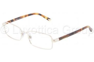 Dolce&Gabbana DG1215 Progressive Prescription Eyeglasses 1025-5217 - Pale Gold
