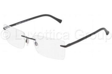 Dolce&Gabbana DG1224 Progressive Prescription Eyeglasses 01-5417 - Black Frame