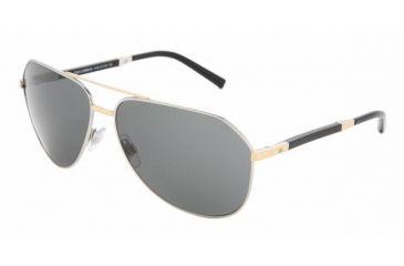 Dolce & Gabanna DG2067 #024/87 - Silver Frame, Gray Lenses