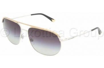 Dolce & Gabbana DG2092 Sunglasses 024/8G-5915 - Silver/Gold Gray Gradient