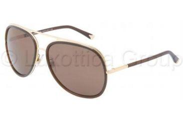 Dolce&Gabbana ICONIC EVOLUTION DG2098 Bifocal Prescription Sunglasses DG2098-108673-6016 - Lens Diameter 60 mm, Frame Color Gold