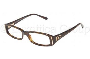 Dolce&Gabbana DG3043 Single Vision Prescription Eyewear 502-5015 - Havana