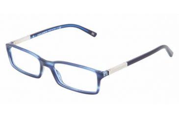 Dolce & Gabanna DG3096 #1731 - Striped Blue Frame, Demo Lens Lenses