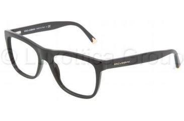 Dolce&Gabbana DG3108 Progressive Prescription Eyeglasses 501-5117 - Black