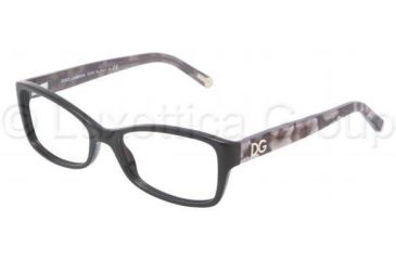 Dolce&Gabbana DG3119 Single Vision Prescription Eyewear 1926-5216 - Black