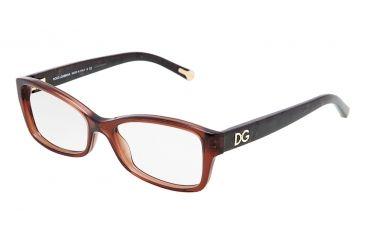 Dolce&Gabbana DG3119 Eyeglass Frames 2542-5416 - Transparent Brown Frame