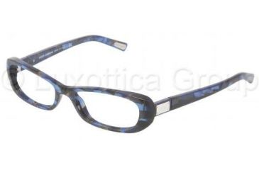 Dolce&Gabbana DG3120 Progressive Prescription Eyeglasses 1919-5216 - Blue