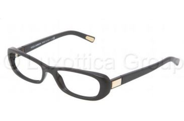 Dolce&Gabbana DG3120 Progressive Prescription Eyeglasses 501-5216 - Black