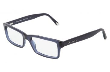 f9c819b0854 Dolce Gabbana DG3123 Eyeglass Frames 1850-5217 - Transparent Blue Demo Lens  Frame