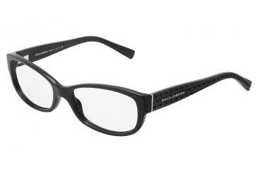 Dolce&Gabbana DG3125 Eyeglass Frames 501-5316 - Black Frame
