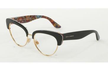 73bc6b5d8a72 Dolce&Gabbana DG3247 Eyeglass Frames 3033-53 - Top Black/handcart Frame