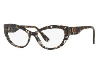 e9ab46ea0d2 Dolce Gabbana DG3306F Eyeglass Frames 911-54 - Cube Black gold Frame