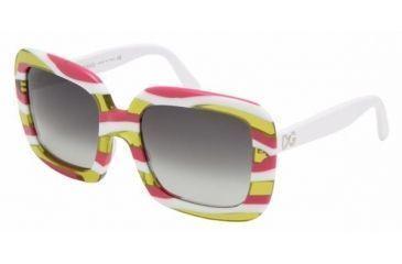 Dolce & Gabanna DG4035 #843/8G - Pink Striped Gray Gradient Frame