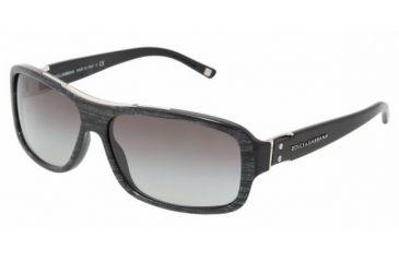 Dolce & Gabanna DG4071 #16158G - Pearl Black On Black Gray Gradient Frame