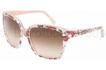 f5125e46ca33 Dolce   Gabbana DG4077M Sunglasses 179013-5817 - Ext Flower Int Pink Brown  Gradient