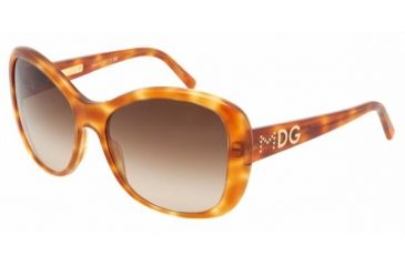 Dolce & Gabanna DG4108 #512/13 - Light Havana Brown Gradient Frame