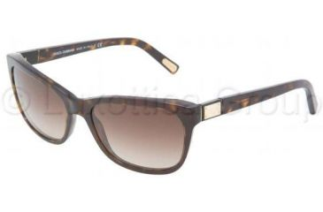 Dolce&Gabbana DG4123 Sunglasses 502/13-5717 - Havana Brown Gradient