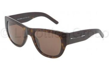 Dolce&Gabbana DG4127 Progressive Prescription Sunglasses DG4127-502-73-5321 - Frame Color Havana, Lens Diameter 53 mm
