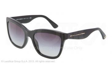 Dolce&Gabbana DG4140 Progressive Prescription Sunglasses DG4140-501-8G-5419 - Lens Diameter 54 mm, Frame Color Shiny Black