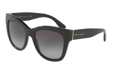 f43400c02b Dolce Gabbana DG4270 Sunglasses 501 8G-55 - Black Frame