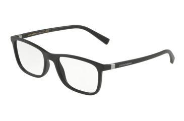 f94c194dbec Dolce Gabbana DG5027 Eyeglass Frames 2525-53 - Matte Black Frame