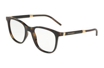 a834324d0d Dolce Gabbana DG5037 Prescription Eyeglasses 502-51 - Havana Frame