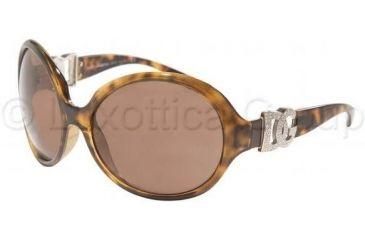 Dolce & Gabbana DG6030B Sunglasses 502/73-6417 - Havana Brown