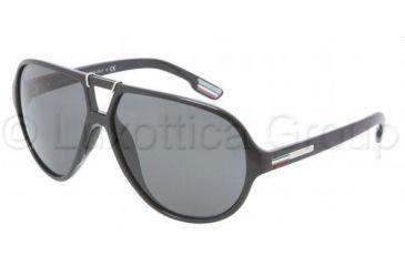 Dolce&Gabbana DG6062 Sunglasses 501/87-6212 - Black Gray