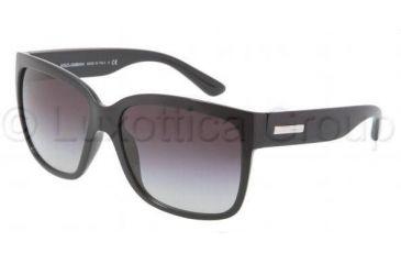 Dolce&Gabbana DG6063 Bifocal Prescription Sunglasses DG6063-501-8G-5816 - Frame Color Black, Lens Diameter 58 mm