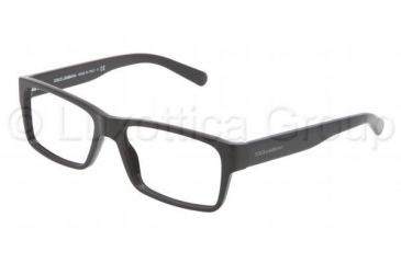Dolce&Gabbana Discovery the unexpected DG3132 Progressive Prescription Eyeglasses 501-5316 - Black Frame