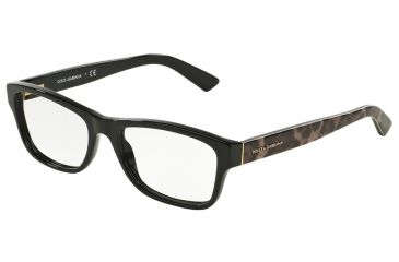 591a5efc8f3 Dolce Gabbana ENCHANTED BEAUTIES DG3208 Eyeglass Frames 2525-52 - Black  Frame