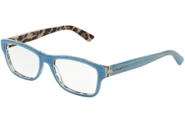 1a10dc04578 Dolce Gabbana ENCHANTED BEAUTIES DG3208 Progressive Prescription Eyeglasses  2883-52 - Top Opal Azure Leo