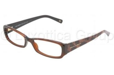 Dolce&Gabbana Eyeglasses DG3085 with Lined Bifocal Rx Prescription Lenses 1830-5116 - Brown