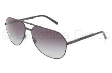Dolce&Gabbana FOLDING PROJECT DG2106 Bifocal Prescription Sunglasses DG2106-11068G-6115 - Lens Diameter 61 mm, Frame Color Matte Black