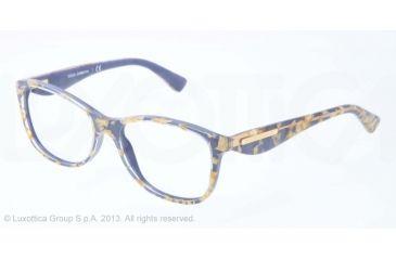 Dolce&Gabbana GOLD LEAF DG3174 Eyeglass Frames 2750-54 - Leaf Gold On Azure Frame
