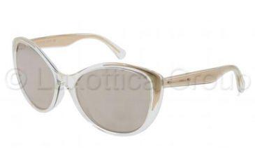 Dolce&Gabbana GOLD PROJECT DG6075K Sunglasses 2625F9-5817 - Gold Crystal Frame, Plated Gold Lenses