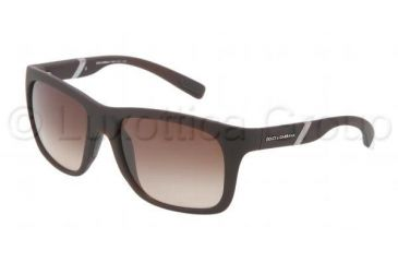 Dolce&Gabbana GYM DG6072 Progressive Prescription Sunglasses DG6072-262013-5618 - Lens Diameter 56 mm, Frame Color Brown