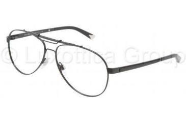 Dolce&Gabbana Iconic evolution DG1223 Single Vision Prescription Eyeglasses 01-5814 - Black Frame