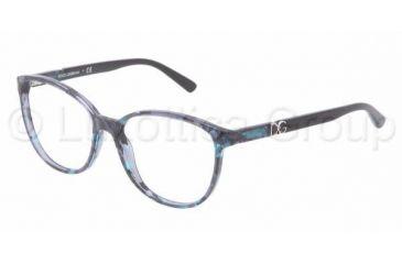 Dolce&Gabbana ICONIC LOGO DG3154P Single Vision Prescription Eyeglasses 2689-5216 - Dark Steel Frame