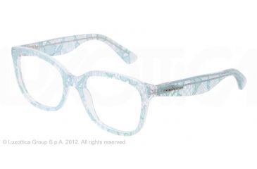 Dolce&Gabbana LACE DG3165 Eyeglass Frames 2729-52 - Green Lace Frame