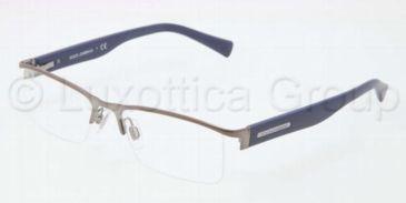 Dolce&Gabbana LIFESTYLE DG1239 Single Vision Prescription Eyeglasses 1177-5117 - Gunmetal Frame
